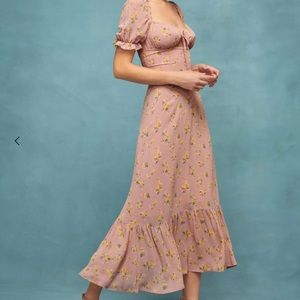 Reformation Cabernet Dress NWT